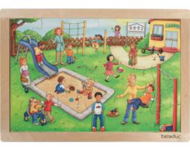 Puzzel De speeltuin, 24-delig