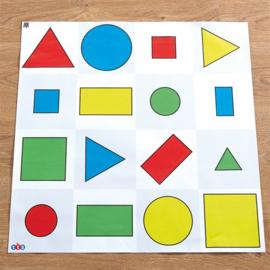 Geometrische vormen mat