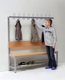 Garderobe zitbank