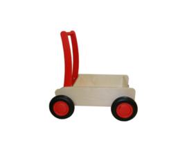 Blokkenwagen rood