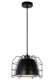 Hanglamp Grid Ø 26 cm zwart