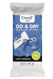 Creall - Do & Dry boetseerklei wit, 1 kg
