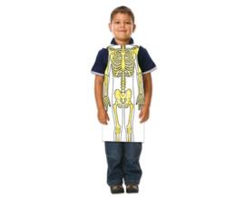 Schort met het skelet, 12 stuks
