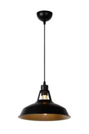 Hanglamp Brassy Ø 31 cm zwart