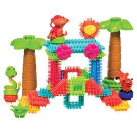Bristle Blocks jungle set, 58-delig