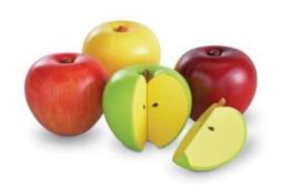 Magnetische breuken appels