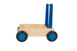 Blokkenwagen blauw