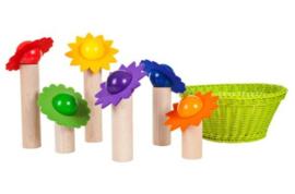 Bloemen balanceerspel, 25-delige set