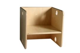 Kubusstoel voor peuters