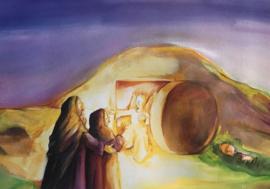# Jezus is opgestaan, vertelplaten, 11 stuks