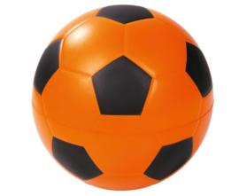 Voetbal mousse oranje