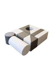 Softplay bouwstenen set Alina 10-delig