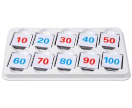 Magnetisch getallenplaatjes 1 tot 100