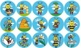 Beloningsstickers Bee zoom