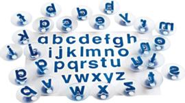 Letterstempels 26-delig, Kleine letters