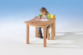 Swing it Woody Vierkante tafel 60 x 60 cm
