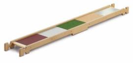 Balanceerplank materialenmix