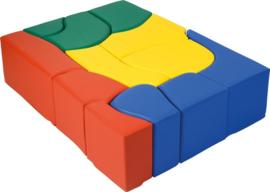 Softplay bouwstenen set 12-delig
