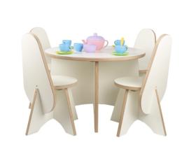 Ronde tafel Apollo voor peuters wit