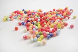 Gekleurde wattenballetjes  set van 1000 ass.
