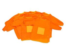 # Schildersschort oranje, 2 - 4 jaar, 10 stuks