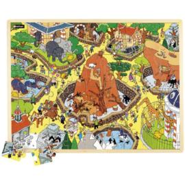 Puzzel - dierentuin, 63-delig