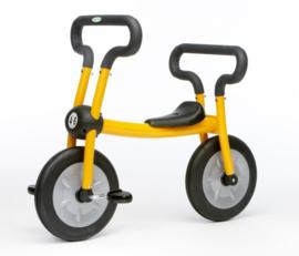 Pilot yellow bike