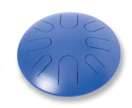 Steel Tongue drum large blauw
