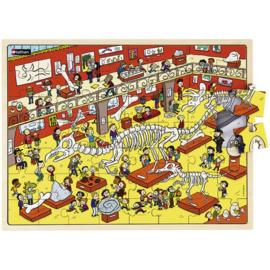 Puzzel Het museum, 56-delig