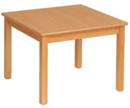 Beuken tafel vierkant, 60 x 60 cm