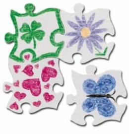 Grote puzzelstukken set van 32