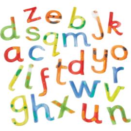 Kleurrijke letters