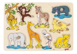 Insteekpuzzel Wilde dieren I