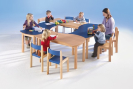 Swing it Woody Rechthoekige tafel 120 x 60 cm