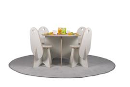 Ronde tafel Apollo voor kleuters wit