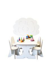 Boomzit tafel met 4 stoeltjes Apollo