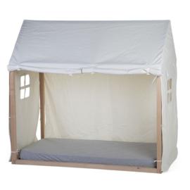 Speelhuis frame met cover wit, 70 x 140