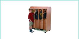 Garderobe kasten en wagens