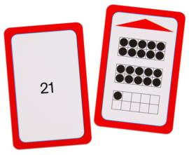 Magische hoed opdrachtkaarten, tellen tot 50