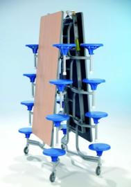 Spaceflex 16 zits, tafelblad Volkern PowerSurf, zithoogte 32 cm