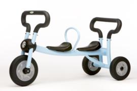 Pilot bleu walker 2 seat driewieler