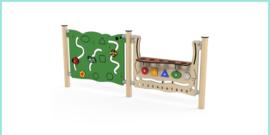 Wandspeelborden