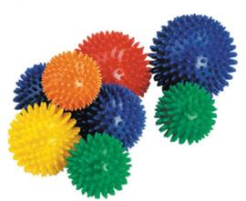 Spike balls / Pin ballen set van 8 st.