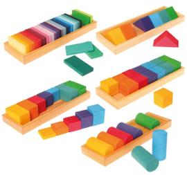Grimm's kleurrijke blokkenset