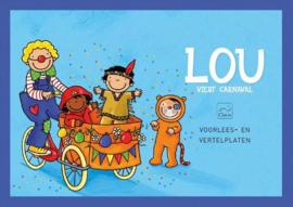 Vertelplaten Lou viert carnaval