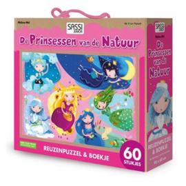 # Puzzel De prinsessen van de natuur, 60-delig