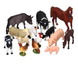 Boerderijdieren 14-delige set