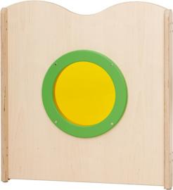 # Paneel met cirkel voor grondbox Joy