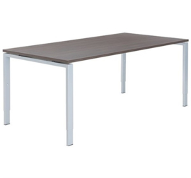 Carre vergadertafel recht poottype A, instelbaar 62-86 cm.