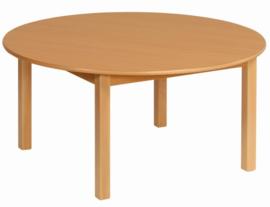 Beuken tafel rond, doorsnee 100 cm